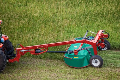 Kverneland 4132 L - 4140 L, Trailed Pull-Type Disc Mower