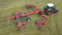 Extensive Range of Four Rotor Rakes to Boost Your Grass Management