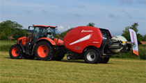 Kverneland FastBale features at Grass Field days in Denmark