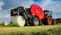 Kverneland FastBale - The professional solution to baling and wrapping