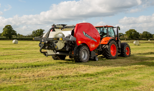 Smart controls for Kverneland FastBale non-stop baler wrapper