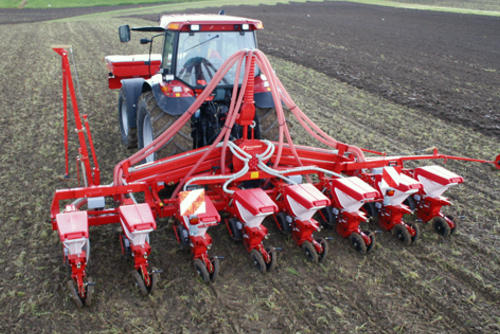 Optima 8-row parallel hydraulic folding
