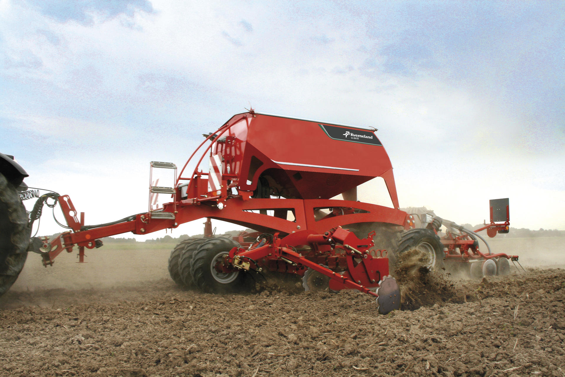 The u-drill - the universal seed drill combination